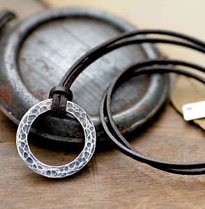 Personalised Urban Ranch Bolo Mens Chain