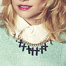 Pixie Lott Holly Overload Cross Necklace