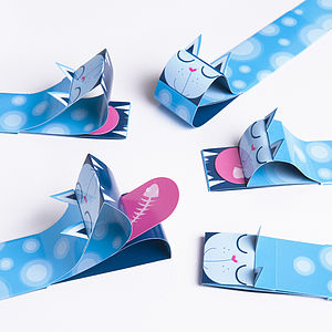 Cat Puppet Bookmark - stocking fillers under £15