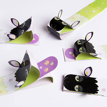 Sheep Puppet Bookmark