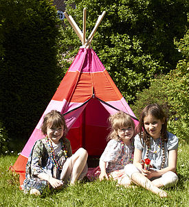 Hippie Tip Play Tent - tents, dens & wigwams