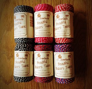 Cotton Bakers Twine / Ribbon 20 Meter Roll