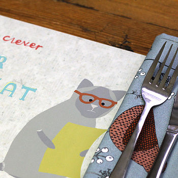 Cat Character Table Placemat