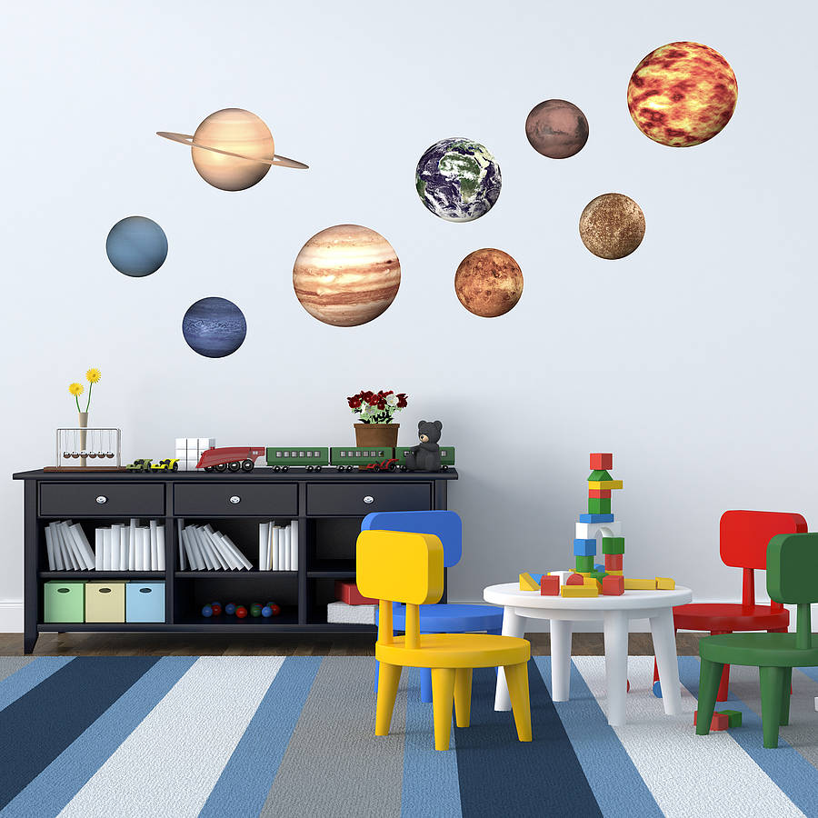 28 wall stickers space space planet wall stickers wall stickers space space planet wall stickers by oakdene designs