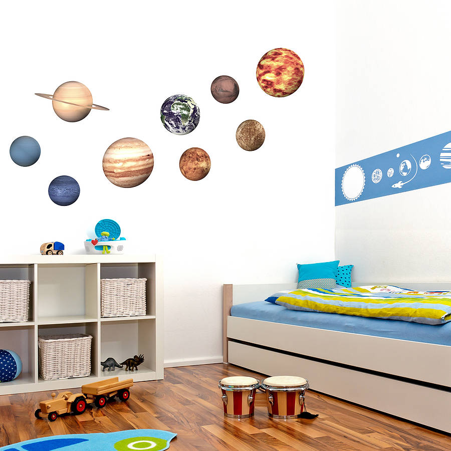 Lovely U0027Space Planetu0027 Wall Stickers · U0027 Part 6