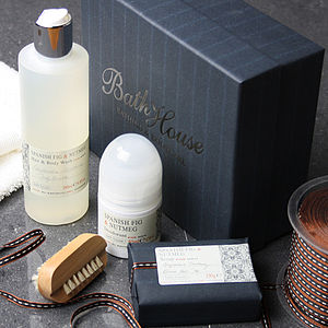 Men's Spanish Fig Shower Gift Box - view all gifts for him