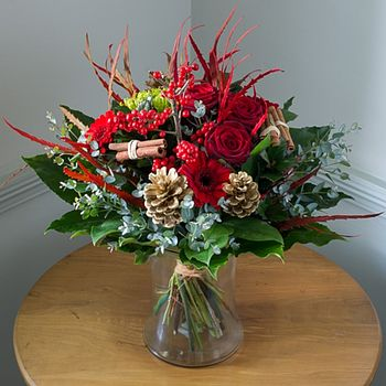 Festive Flower And Spice Scented Bouquet