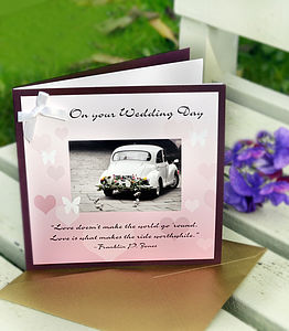 Happy Families Wedding Cards