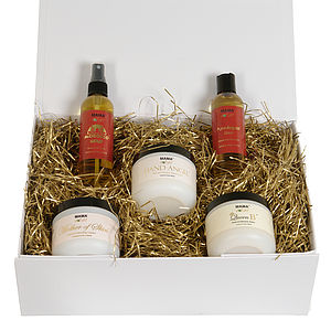 My Very Own Spa Organic Skin Care Gift Set - skin care