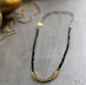 Black Spinel Gemstone Necklace - necklaces & pendants