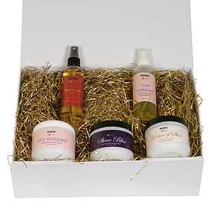 Mama Knows Best Organic Skin Care Gift Set