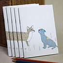 Little Dog And Fox Notebook