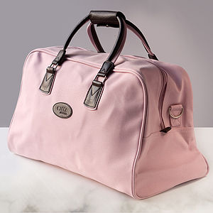 Pink Travel Bag - holdalls & weekend bags