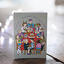 Christmas Card 'Festive Family'