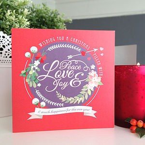 'Very Berry' Christmas Card Pack - cards