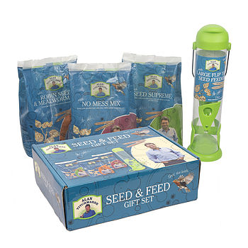 Luxurious Wild Bird Seed And Feeder Gift Set
