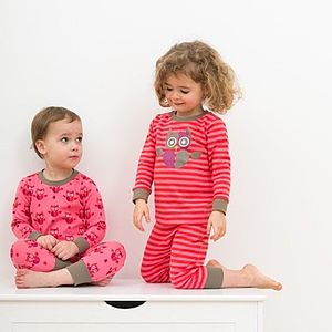 Night Owl Or Hoot The Owl Pyjamas - clothing