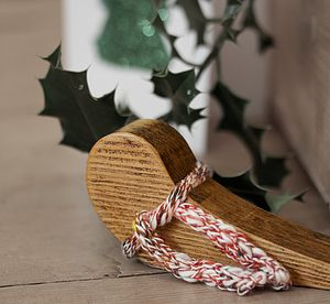 Limited Edition Festive Door Wedge - christmas home accessories