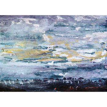 Seascape Series Number 18 Collage