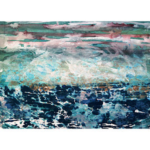 Seascape Series Number Nine Collage - art & pictures