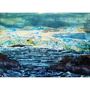 Seascape Series Number Four Collage - nature & landscape