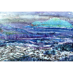 Seacape Series Number One Collage - canvas prints & art