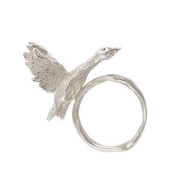 Snow Goose Ring