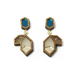 Little Cluster Earrings - women's jewellery