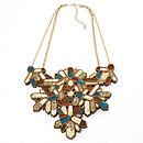 Kaleidoscope Necklace - Tortoiseshell & Teal