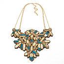 Kaleidoscope Necklace - Teal