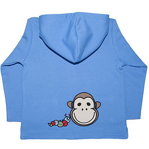 Baby's Organic Toasty Hoody By Monkey + Bob - jumpers & cardigans