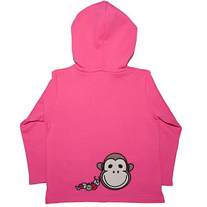 Girl's Organic Toasty Hoody By Monkey + Bob - baby & child sale