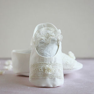 Christening Booties 'Sophia' - christening wear