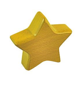 Eco Friendly Star Rattle / Teether