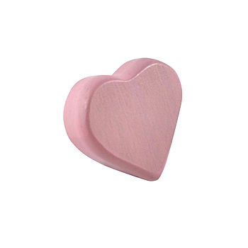 Eco Friendly Wooden Heart Rattle Teether