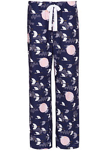 Cranes Organic Pyjama Trousers - women's fashion
