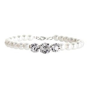 Coco Pearl And Diamante Bracelet