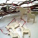 Dala Horse Scandinavian Decorations