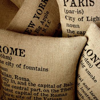 City Chic Cushion Cover