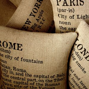 City Chic Cushion Cover - cushions