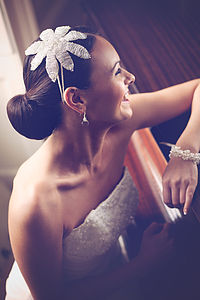 Handmade Fleur Wedding Headpiece - bridesmaid fashion