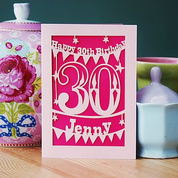 Personalised Birthday Card