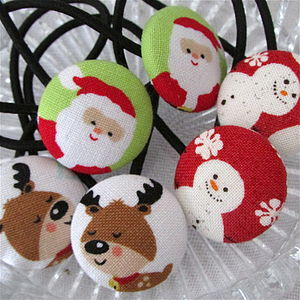 Christmas Santa, Reindeer, Snowman Hair Bands - hair care accessories