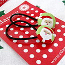 Christmas Santa, Reindeer, Snowman Hair Bands
