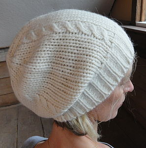 Cable Stitch Hat - womens