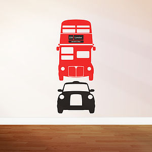 Bus Cab Wall Sticker Decals