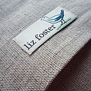 linen union cushion back