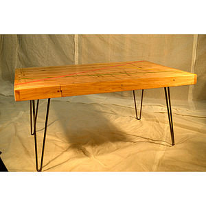 Coffee Table In Reclaimed Maple - furniture