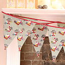 Vintage Style Christmas Bunting