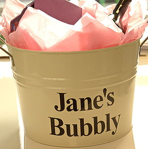 Personalised Large Bucket - decorative accessories